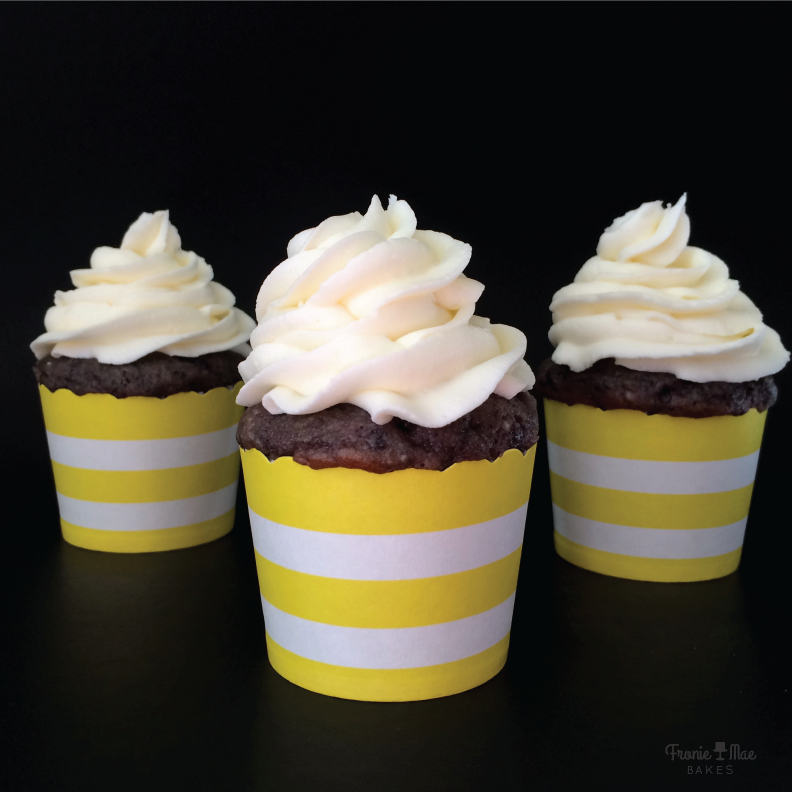 Easy To Make Vanilla Buttercream Frosting Recipe by Fronie Mae Bakes. www.froniemaebakes.com