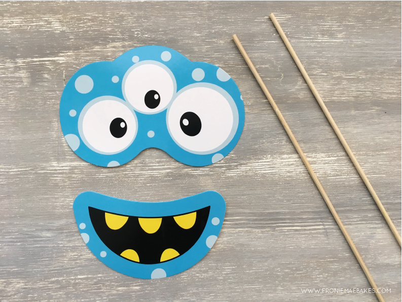 Step One...Create these fun and colorful monster cupcake boxes in just a few easy steps. www.froniemaebakes.com