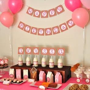COOKIES & MILK BIRTHDAY PARTY