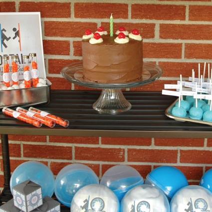 PORTAL BIRTHDAY PARTY