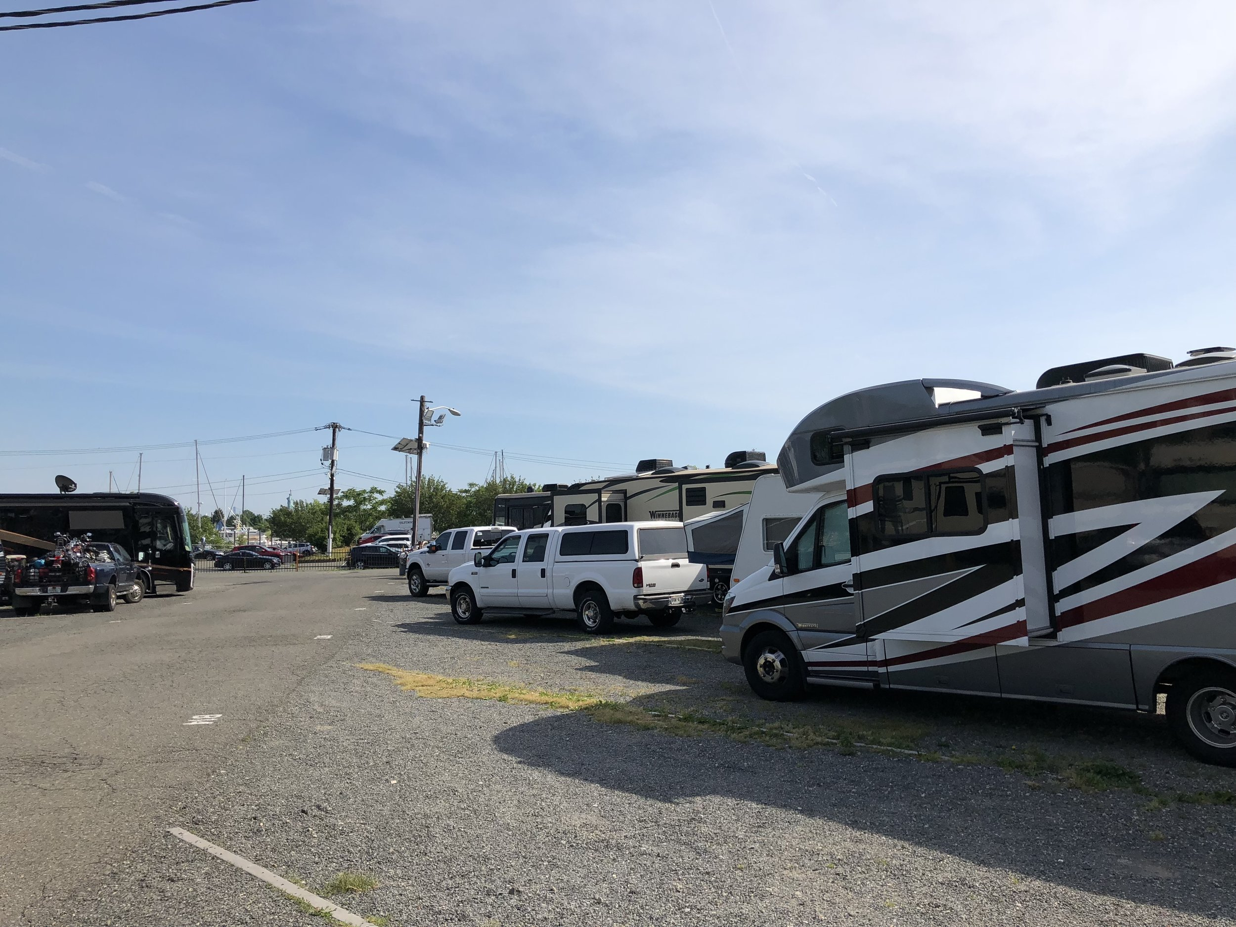 Our RV park in Jersey