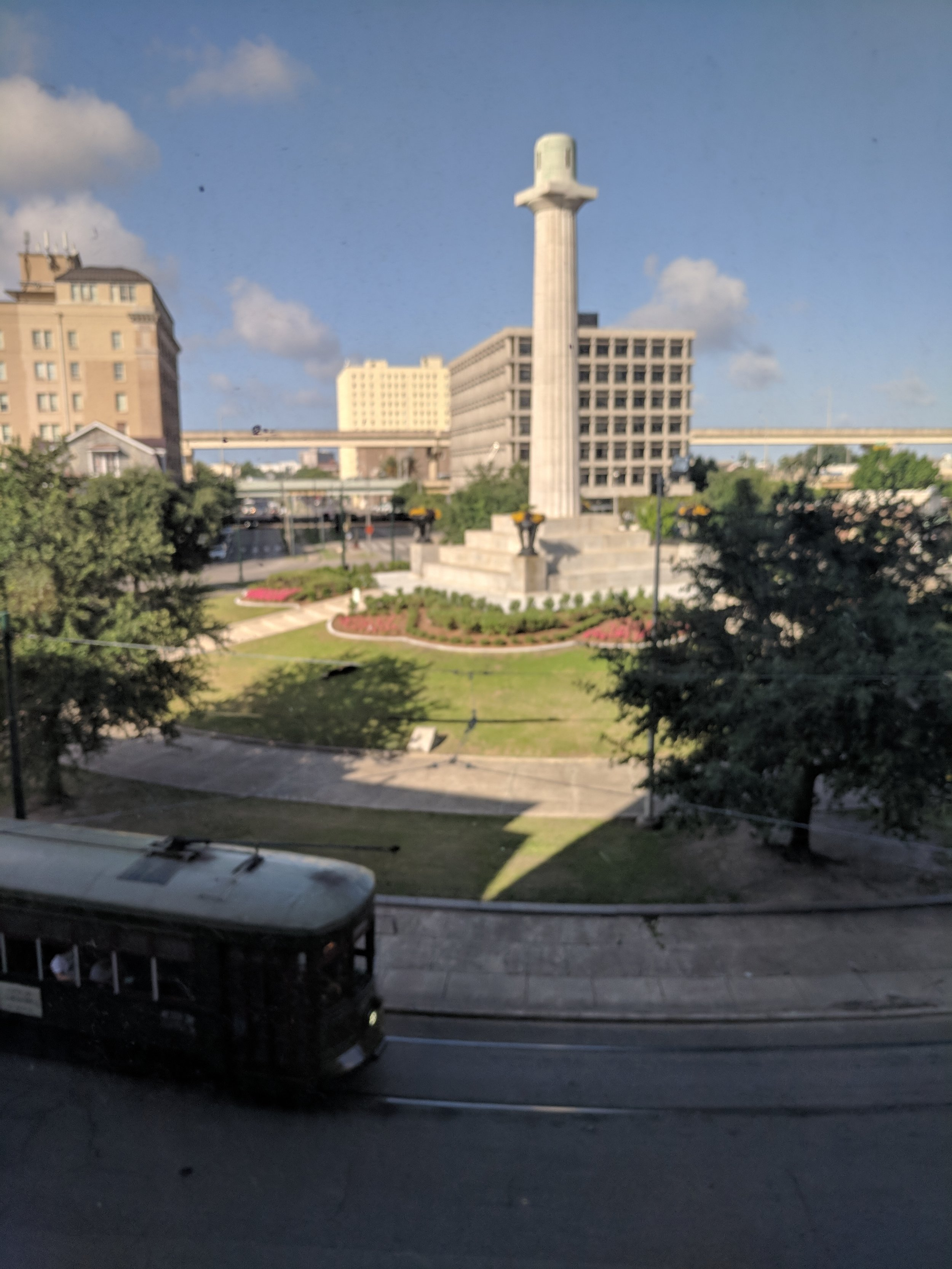 Statue-less column in (formerly) Lee Circle