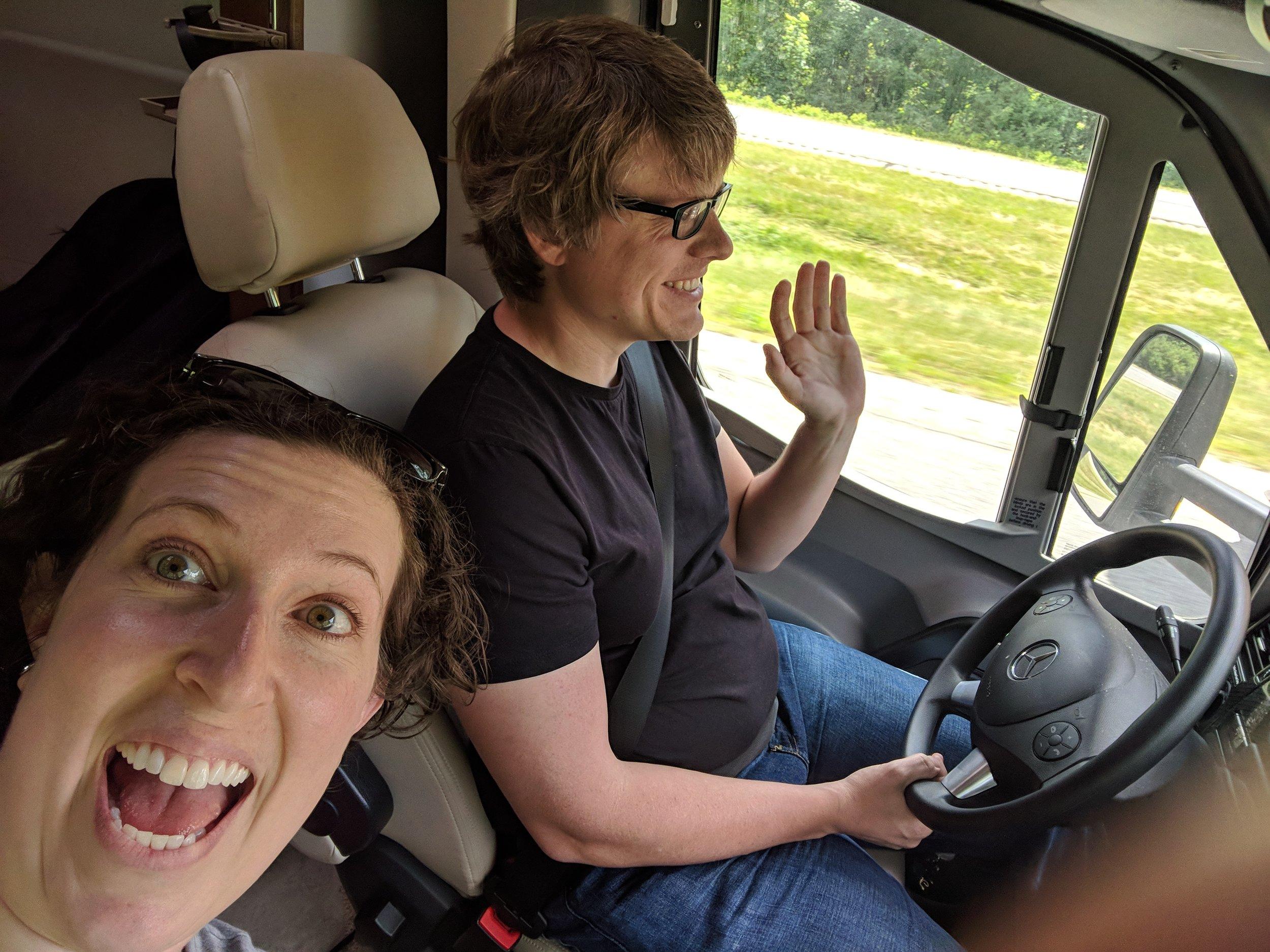 Onward to Ohio!