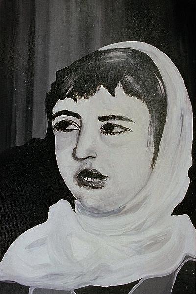 Girl in the veil
