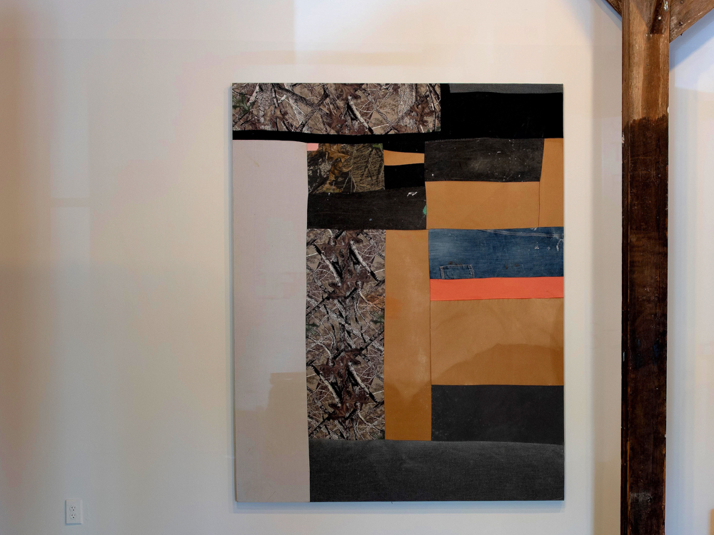 Not Yet Untitled Jonathan Nowell Athens, GA Sewn canvas 2018 Price upon request