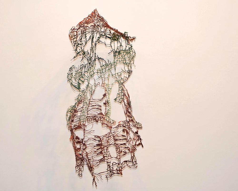 Lace Glitch Maddie Zerkel Minneapolis, MN Handmade paper 2018 NFS