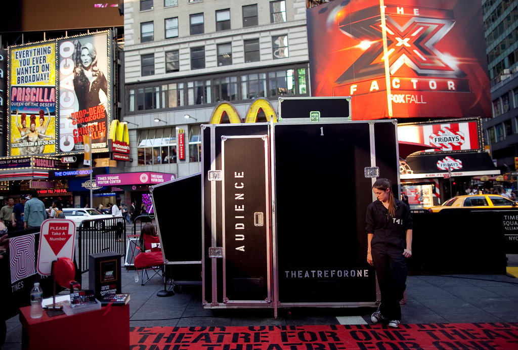 Theatre For Onein Times Square, May 2011