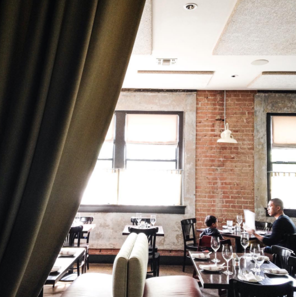 Taken at Boulevardier at the Bishop Arts District - perfect for brunch!