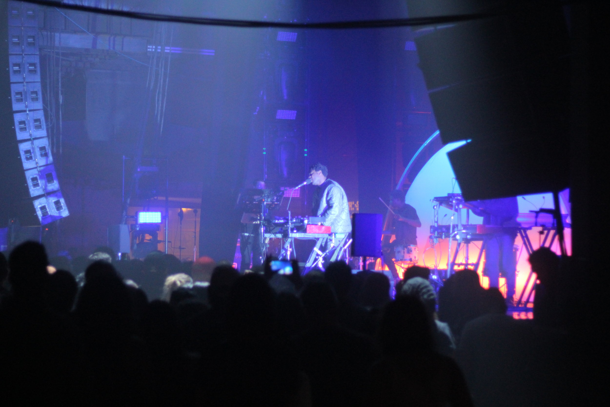 Sampha opening for The XX at Southside Ballroom, Dallas
