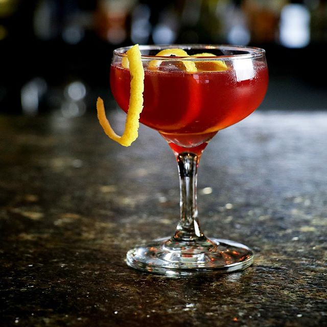 Our newest cocktail Crimson & Clover features plum-infused Macchu Pisco, clove-redwine syrup, honey, lemon, walnut bitters. Have you tried it yet?