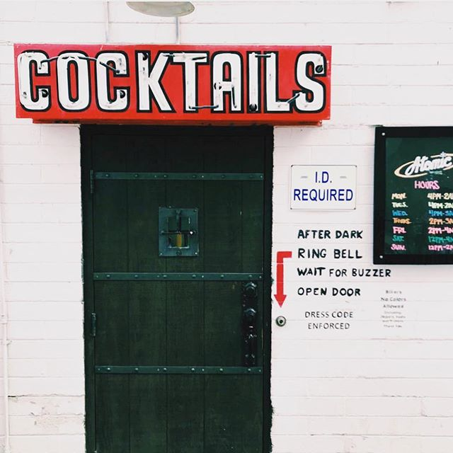 A great drink is just beyond this door.  Come down and get your weekend started with us.