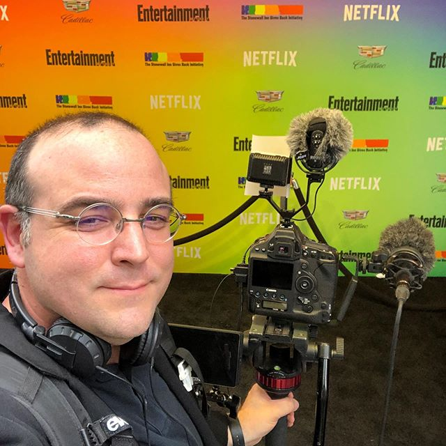 Shooting for Entertainment weekly at the 50th Anniversary of the Stonewall inn 1969 riots that was a pivotal moment in Gay rights. To my friends who continue to struggle despite great strides we are with you. #stonewallinn #gaypride #pridemonth #newyorkcity #ewpride  special thanks to @lbusacca