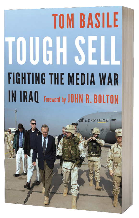 Amazon Bestseller Tough Sell Fighting the Media War in Iraq by Tom Basile