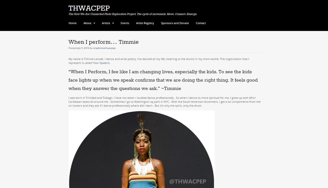 2016   THWACPEP