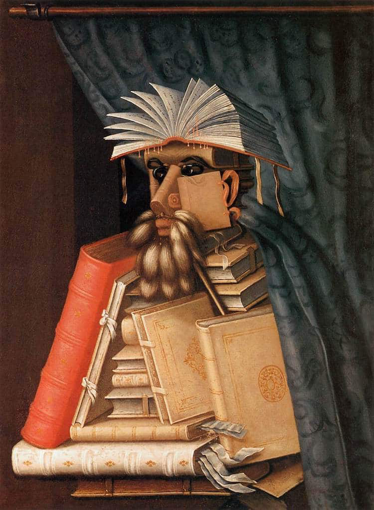 """""""The Librarian,"""" c. 1570"""