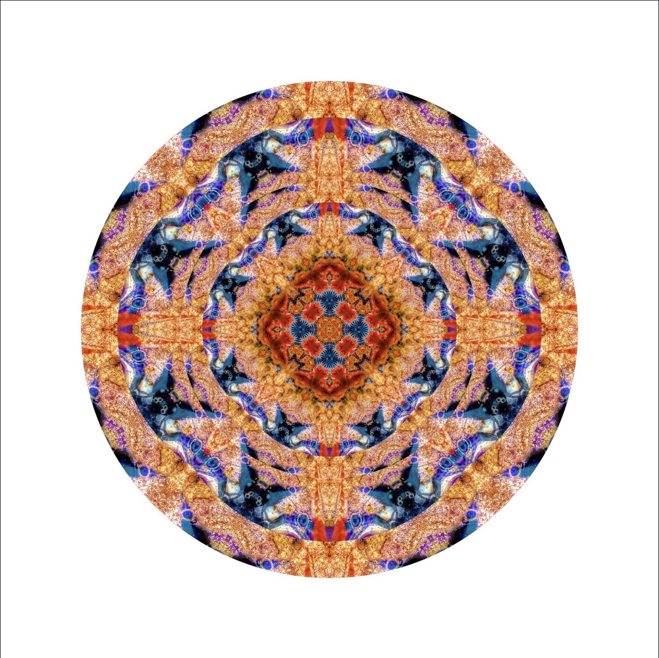 "Modern Mandala: ""Jester Eyes 1"""