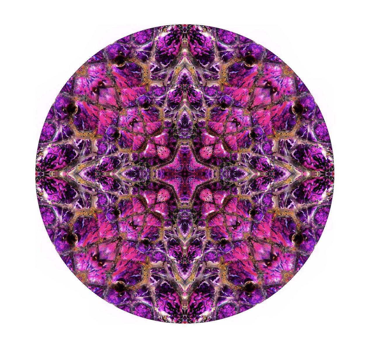 Modern Mandalas - Examining pareidolia in my art