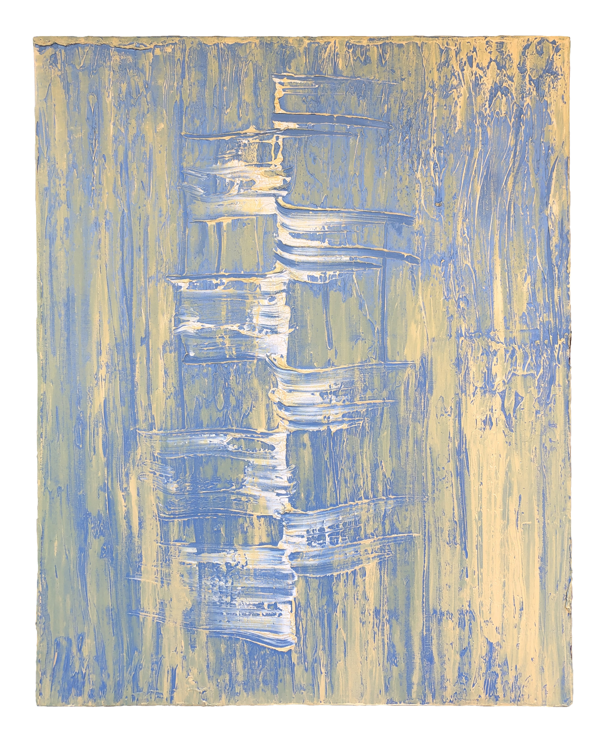 Aquine  , 2018  Oil on canvas  30 x 24 inches