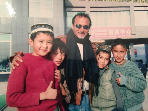 Basir and actors, The Kite Runner