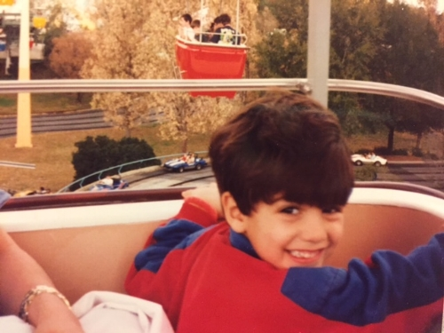 Ameen, 1993, he was about 7