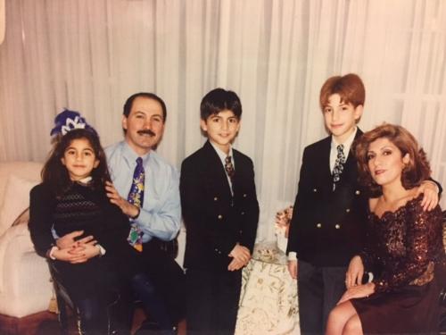 Tara, Yasir, Ameen, Ammar, Amal - Washington 1998