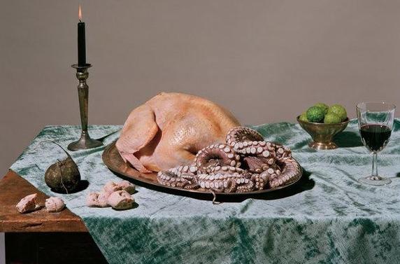 Dark cuisine. Copyright: NYT