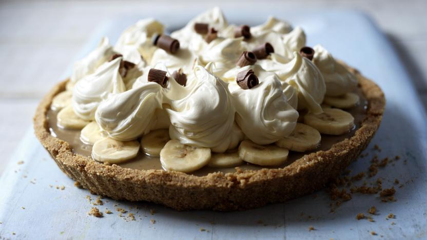 The insanely delicious banoffee pie