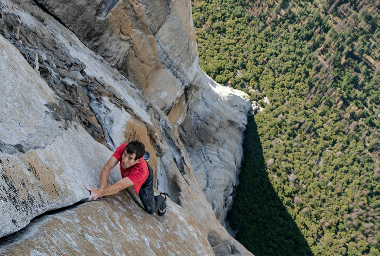The incredible Alex Honnold, also a vegan… Copyright: The great Jimmy Chin for National Geographic