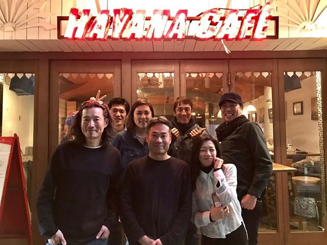 今日は旧スタッフメンバーが ハバナに来てくれました👫 20年経っても来てくれるのは 嬉しいことですね☺️ これからも宜しくお願いします☺️ #havanacafe#ハバナカフェ#20年ぶり#元スタッフ#仲良し#メキシカン#bar#cafe#roppongi#六本木#instafood
