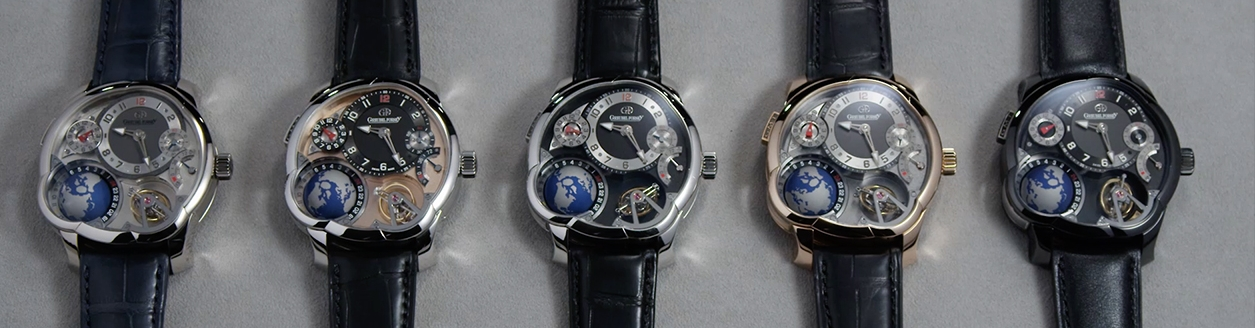 The five versions of the GMT