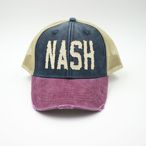 eecd9689 tricolor nash nashville trucker hat collection project
