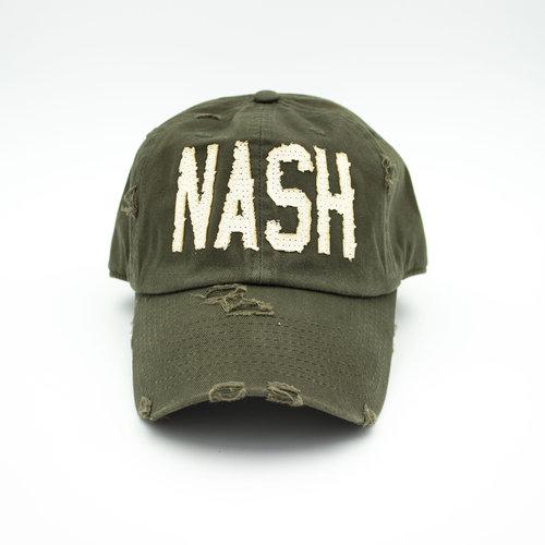 c7951b1b9 Green NASH - Cotton Mule