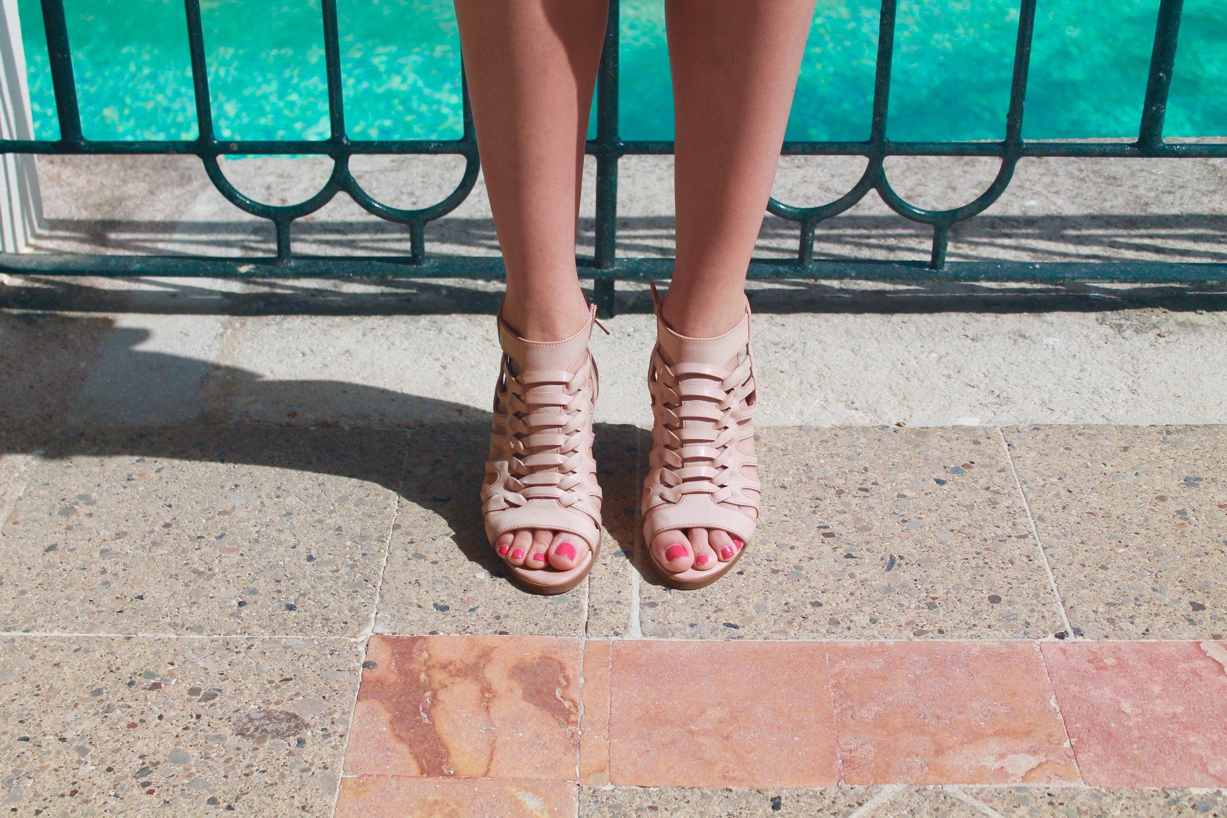 Tariah Block Heel Sandal from Nordstrom Rack