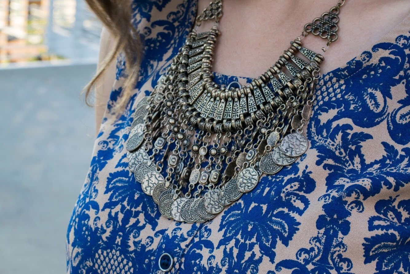 Similar Coin Necklace from Forever 21