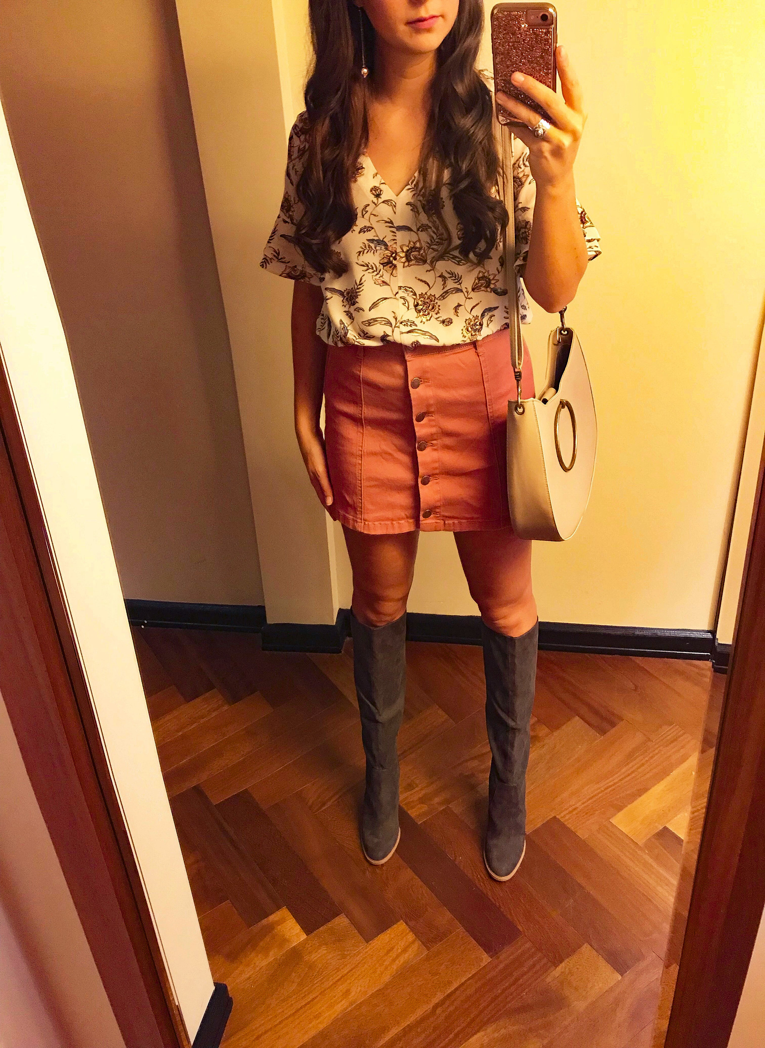 OOTD - Occasion: NYC - brunch at NOMO, sightseeing, lunch at Cull & PistolNovember 2017Outfit details