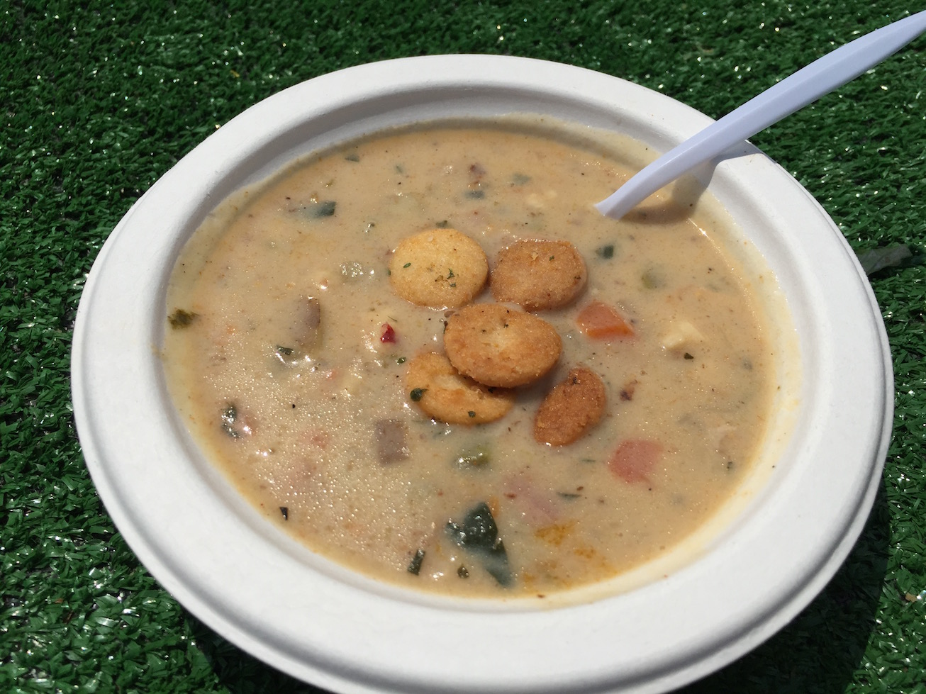 PEI Mussel and Pork Belly Chowder