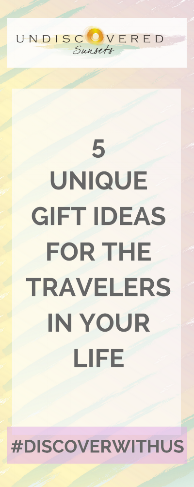 "Looking for unique gift ideas for the traveler's in your life? If they travel often, it's likely that they already have all their ""necessities"" (i.e. luggage, weekend bag, external batteries, selfie sticks, etc). I've put together some unique, experiential ideas that the traveler's in your life are sure to love!"