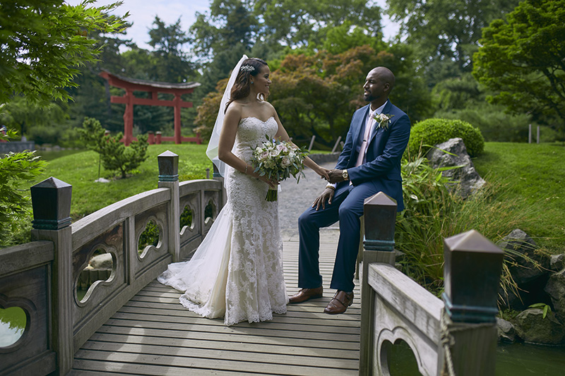 Brooklyn Botanical Gardens Bat Haus Wedding