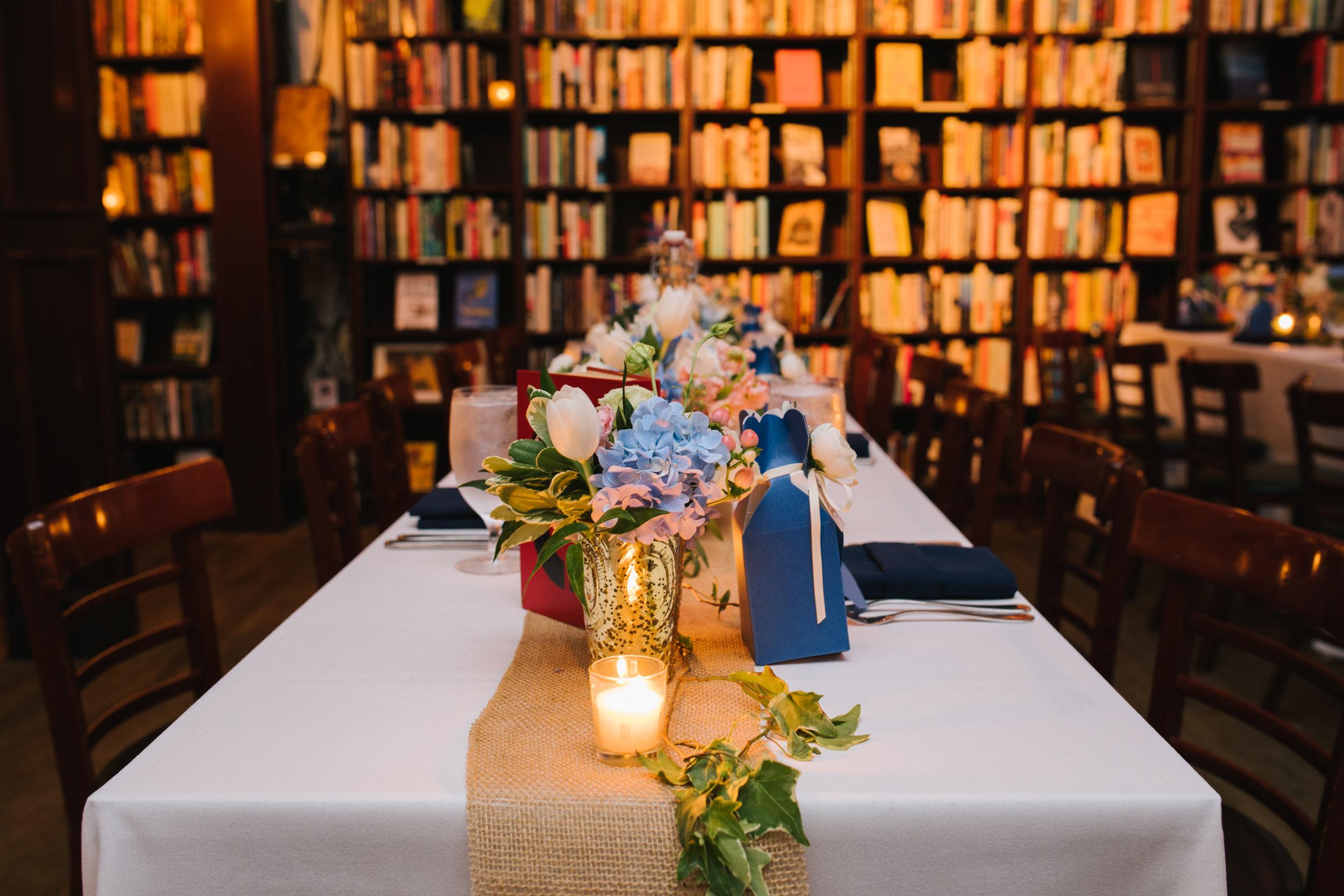 Housing Works Bookstore Wedding