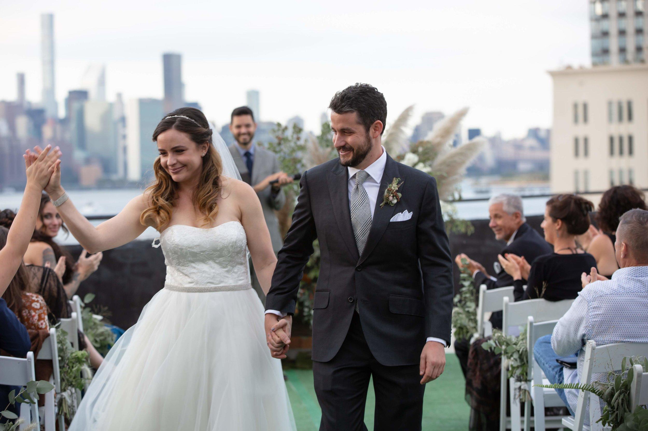 W Loft Rooftop Wedding