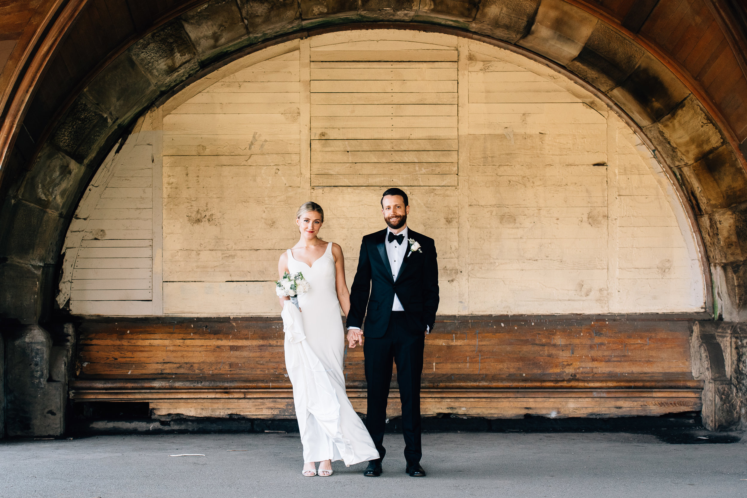 Prospect Park Picnic House Wedding