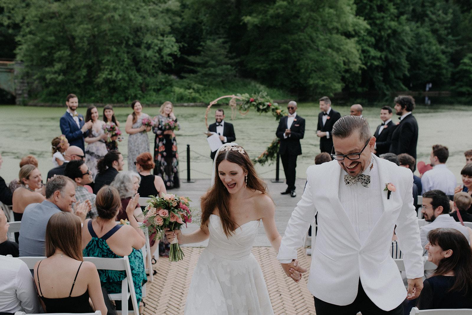Prospect Park Boathouse Brooklyn Wedding