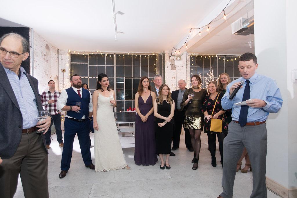 Warehouse Studios Brooklyn Wedding