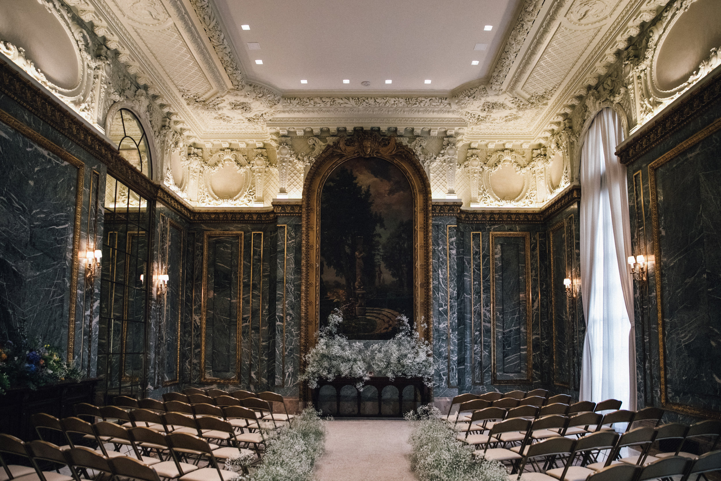 James Burden Mansion Wedding UES NYC