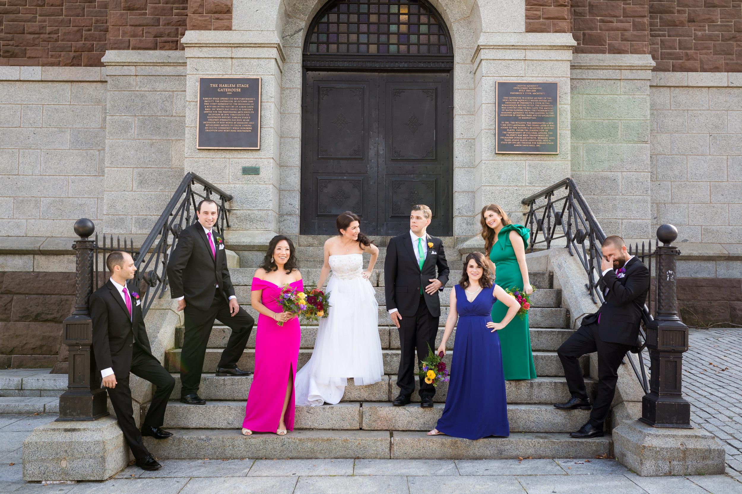 Harlem Stage Gatehouse Wedding