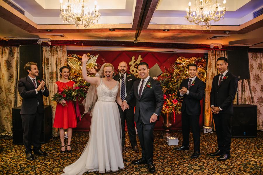 Golden Unicorn Chinatown NYC Wedding