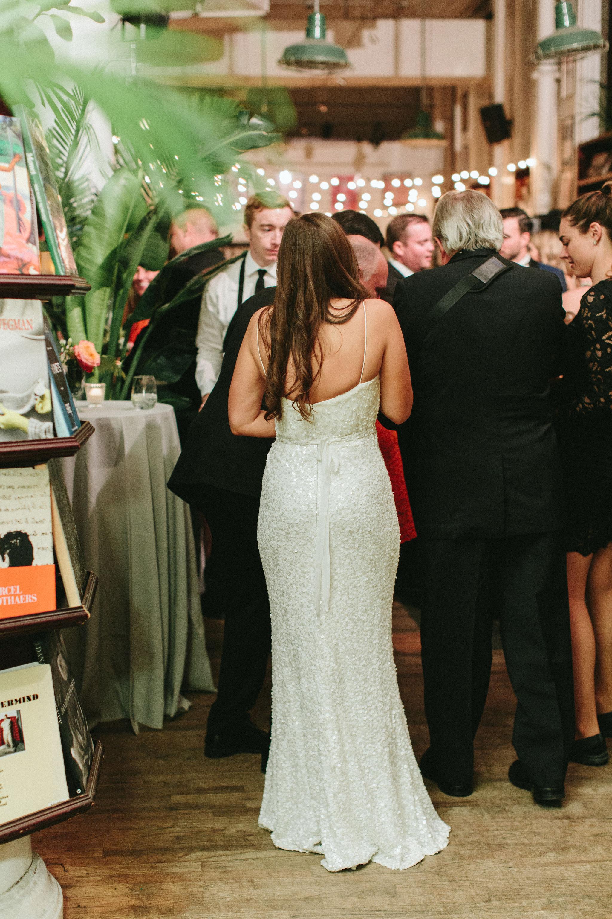 Housing Works Bookstore NYC Wedding Reception