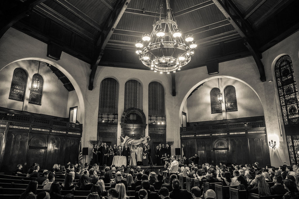 The Mansion at Lawerence Temple Isreal NY Wedding