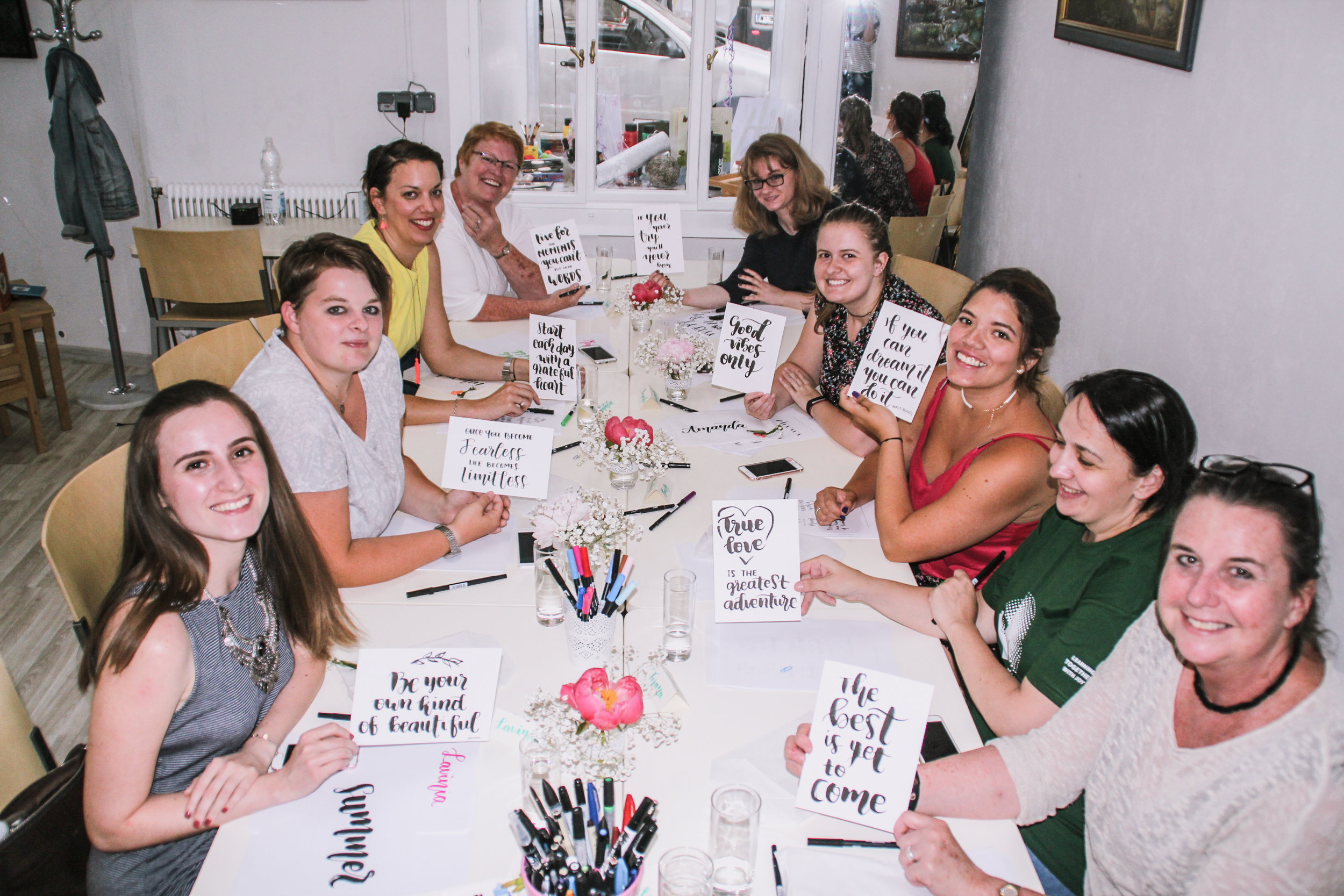 Copy of Lettering and Brush Calligraphy Workshop