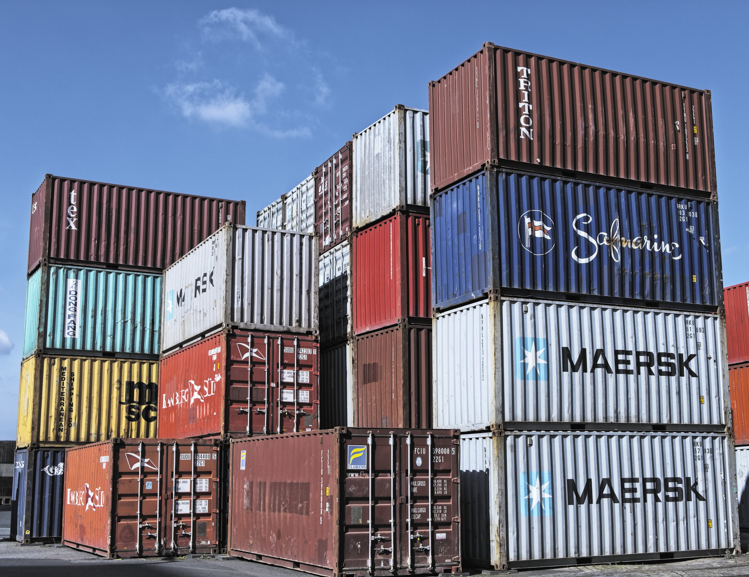 Used Containers -